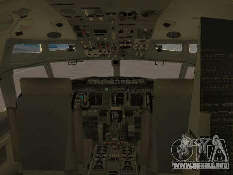 Boeing 737-84R Ukraine International Airlines para las ruedas de GTA San Andreas
