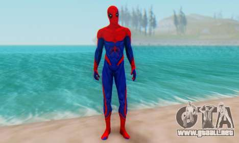 Skin The Amazing Spider Man 2 - Nueva Era para GTA San Andreas segunda pantalla