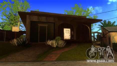 Nuevas texturas en HD casas en grove street v2 para GTA San Andreas quinta pantalla
