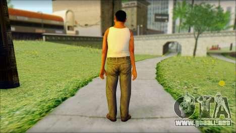 GTA 5 Ped 2 para GTA San Andreas segunda pantalla