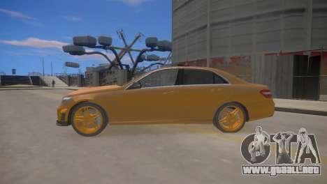 Mercedes-Benz E63 AMG для GTA 4 para GTA 4 left