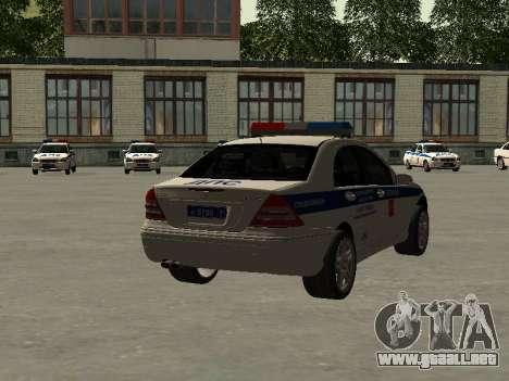 Mercedes Dps para GTA San Andreas left