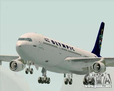 Airbus A340-313 Olympic Airlines para GTA San Andreas