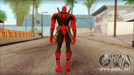 Ultimate Deadpool The Game Cable para GTA San Andreas segunda pantalla