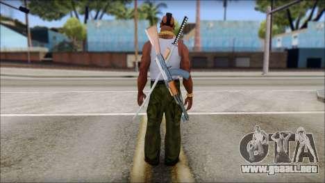 MR T Skin v10 para GTA San Andreas segunda pantalla
