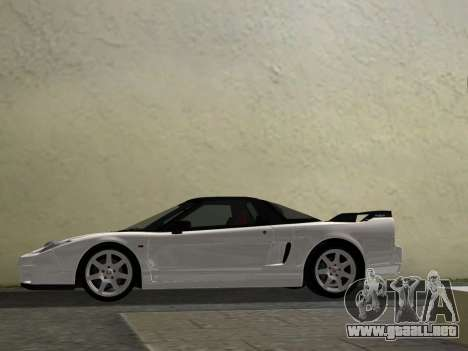 Honda NSX-R para GTA Vice City vista interior