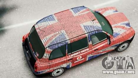 London Taxi Cab v2 para GTA 4 Vista posterior izquierda