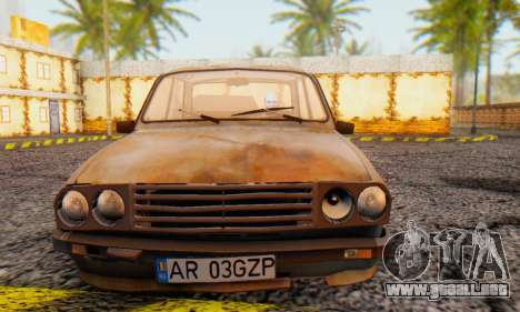 Dacia 1310 MLS Rusty Edition 1988 para GTA San Andreas left