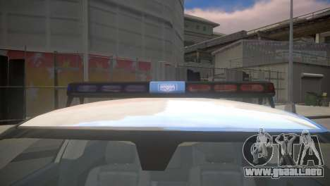Dodge Charger Kuwait Police 2006 para GTA 4 visión correcta