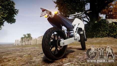 Maibatsu Sanchez para GTA 4 Vista posterior izquierda
