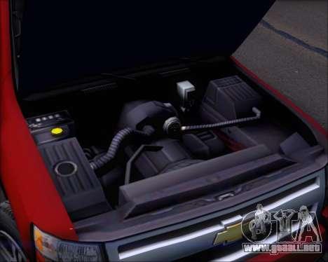 Chevrolet Silverado 2011 para la vista superior GTA San Andreas