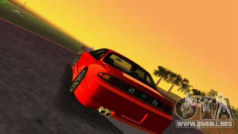 Nissan Silvia S14 RB26DETT Black Revel para GTA Vice City left
