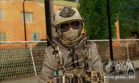 Task Force 141 (CoD: MW 2) Skin 13 para GTA San Andreas tercera pantalla
