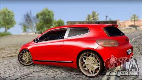 Volkswagen Scirocco Soft Tuning para GTA San Andreas left