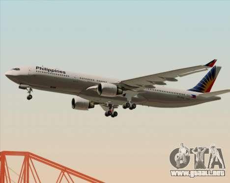 Airbus A330-300 Philippine Airlines para el motor de GTA San Andreas