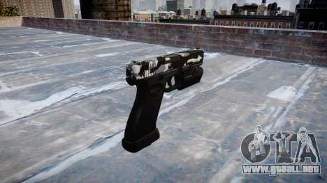 Pistola Glock 20 siberia para GTA 4 segundos de pantalla