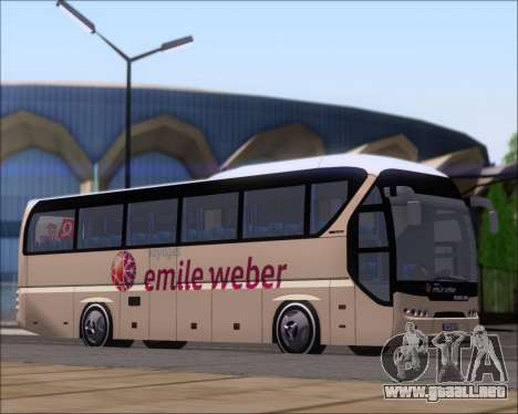 Neoplan Tourliner Emile Weber para GTA San Andreas left