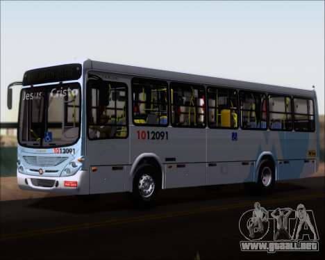 Marcopolo Torino G7 2007 Mercedes-Benz OF-1418 para la vista superior GTA San Andreas