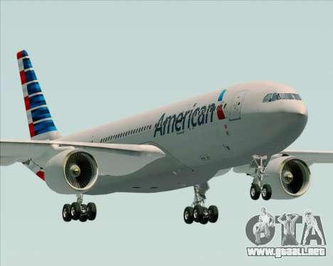 Airbus A330-200 American Airlines para GTA San Andreas