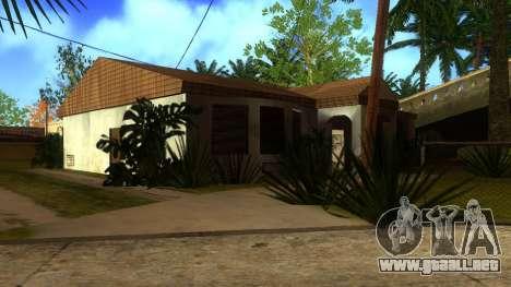 Nuevas texturas en HD casas en grove street v2 para GTA San Andreas undécima de pantalla