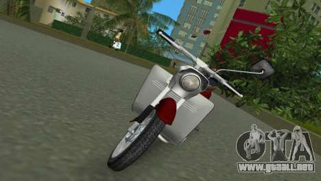 Jawa Type 20 Moped para GTA Vice City left