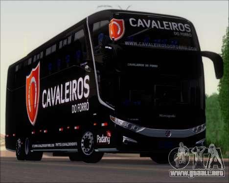 Marcopolo Paradiso G7 1600LD Scania K420 para la vista superior GTA San Andreas