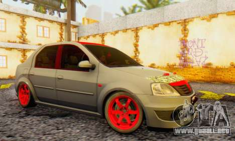 Dacia Logan Turkey Tuning para GTA San Andreas