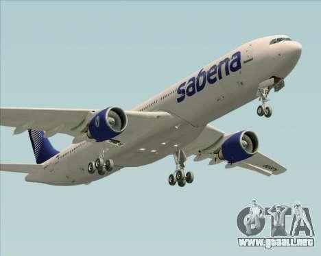 Airbus A330-300 Sabena para el motor de GTA San Andreas