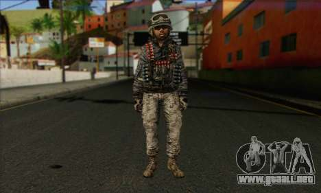 Task Force 141 (CoD: MW 2) Skin 4 para GTA San Andreas