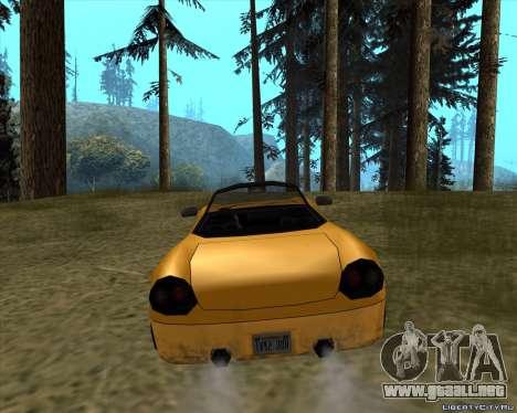 Stinger para GTA San Andreas vista posterior izquierda