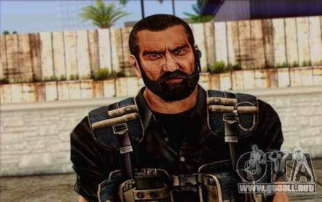 Los soldados de la Rogue Warrior 1 para GTA San Andreas tercera pantalla