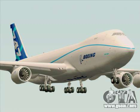 Boeing 747-8 Cargo House Livery para GTA San Andreas