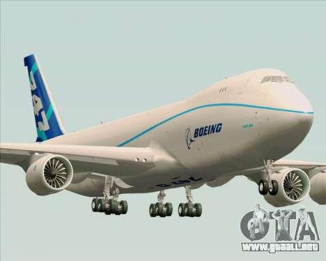 Boeing 747-8 Cargo House Livery para GTA San Andreas