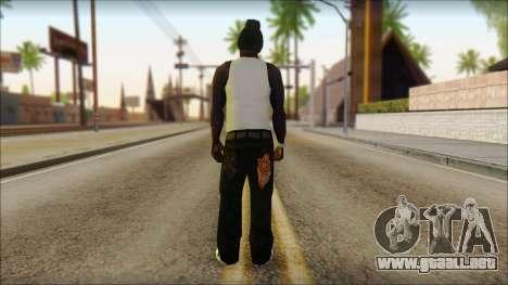 Afro - Seville Playaz Settlement Skin v6 para GTA San Andreas segunda pantalla
