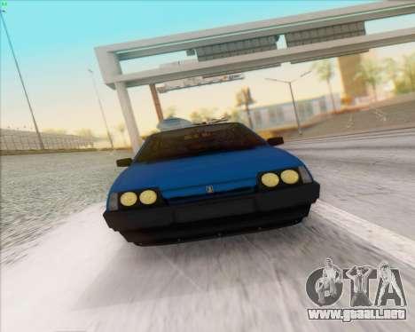 ВАЗ 2109 Baja Clásico para GTA San Andreas vista hacia atrás
