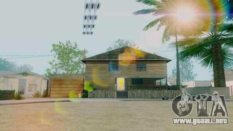 Texturas nuevas casas en la calle grove para GTA San Andreas segunda pantalla