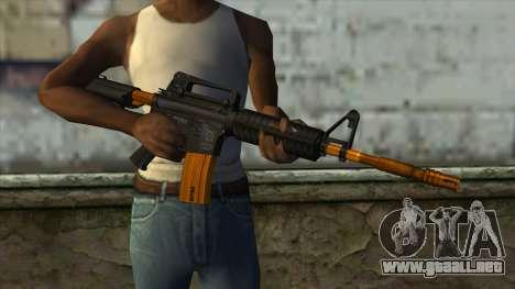 Nitro M4 para GTA San Andreas tercera pantalla