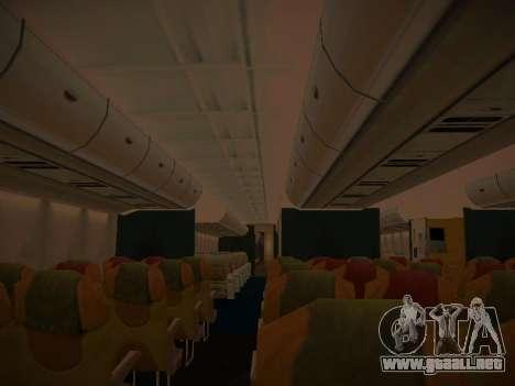 Airbus A380-800 Malaysia Airlines para las ruedas de GTA San Andreas