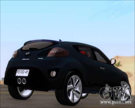Hyundai Veloster 2013 para la visión correcta GTA San Andreas