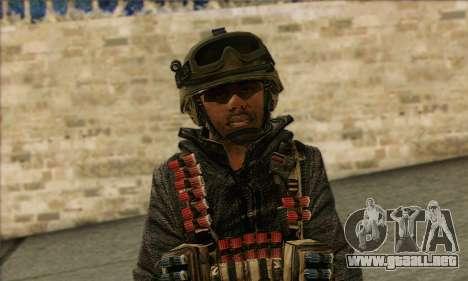 Task Force 141 (CoD: MW 2) Skin 16 para GTA San Andreas tercera pantalla