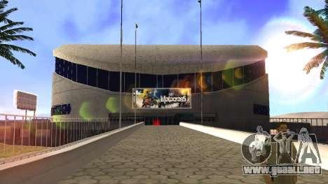 Texturas en HD en el estadio de Las Venturas para GTA San Andreas quinta pantalla