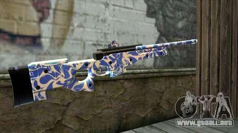 Graffiti Rifle para GTA San Andreas segunda pantalla