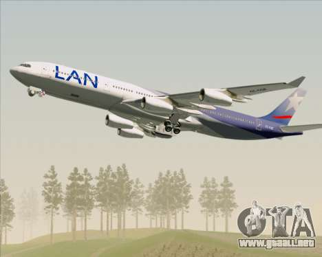 Airbus A340-313 LAN Airlines para el motor de GTA San Andreas
