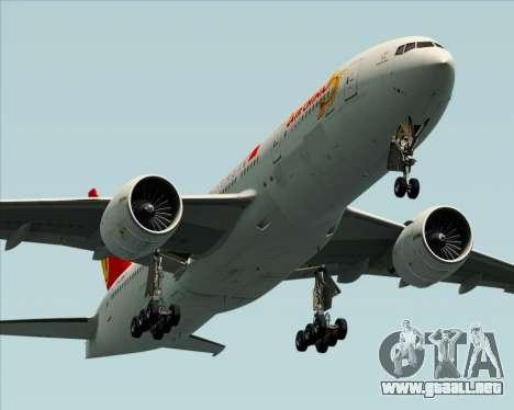Boeing 777-200ER Air China para las ruedas de GTA San Andreas