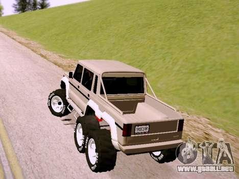 Benefactor Dubsta 6x6 para GTA San Andreas left