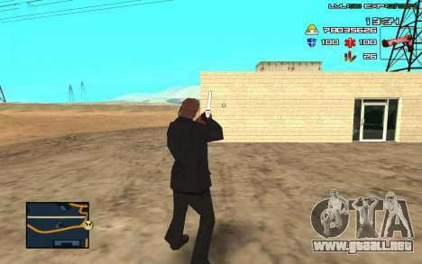 C-HUD by SampHack v.11 para GTA San Andreas tercera pantalla