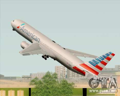 Boeing 767-323ER American Airlines para GTA San Andreas