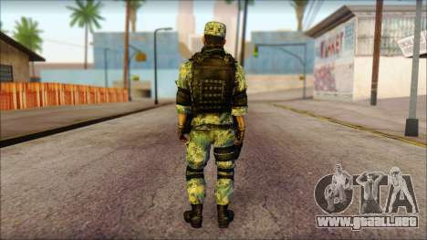MG from PLA v1 para GTA San Andreas segunda pantalla