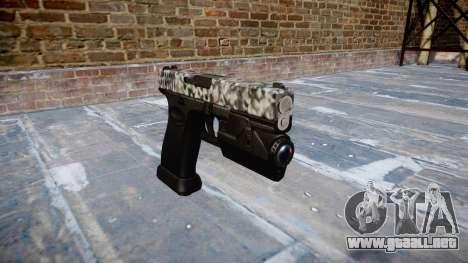 Pistola Glock 20 de diamante para GTA 4