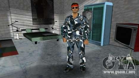 Camo Skin 17 para GTA Vice City tercera pantalla
